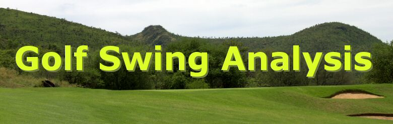 Golf Swing Analysis Heading