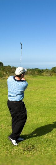 Golf Swing Analysis Golfer